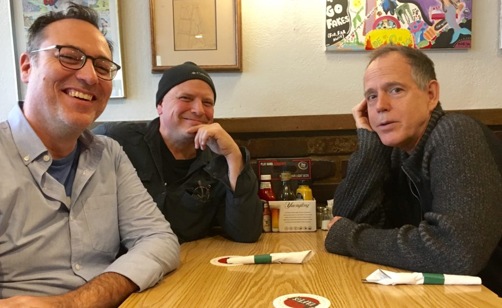 Brandon Dawson, Ric Hordinski, David Wilcox