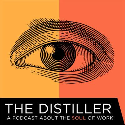 The Distiller Podcast logo