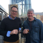 Brandon Dawson and Matt Gunderman at New Riff Distilling