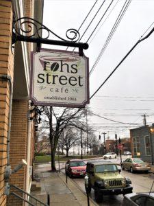 Rohs Street Cafe sign