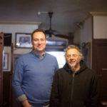 The Distiller host Brandon Dawson with Michael Wilson