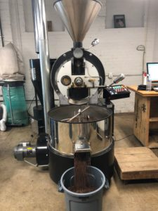 The Deeper Roots Coffee roaster