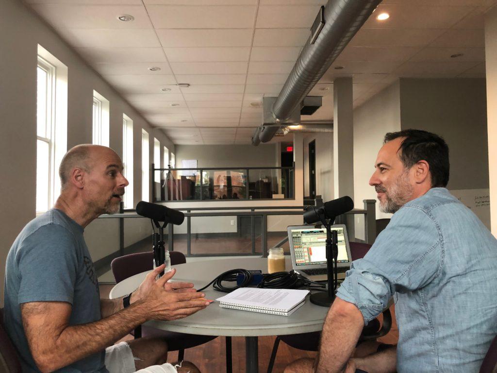 Host Brandon Dawson interviews Bart Campolo for The Distiller podcast