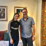 Melis Aydogan of Ruya Coffee with The Distiller host Brandon Dawson