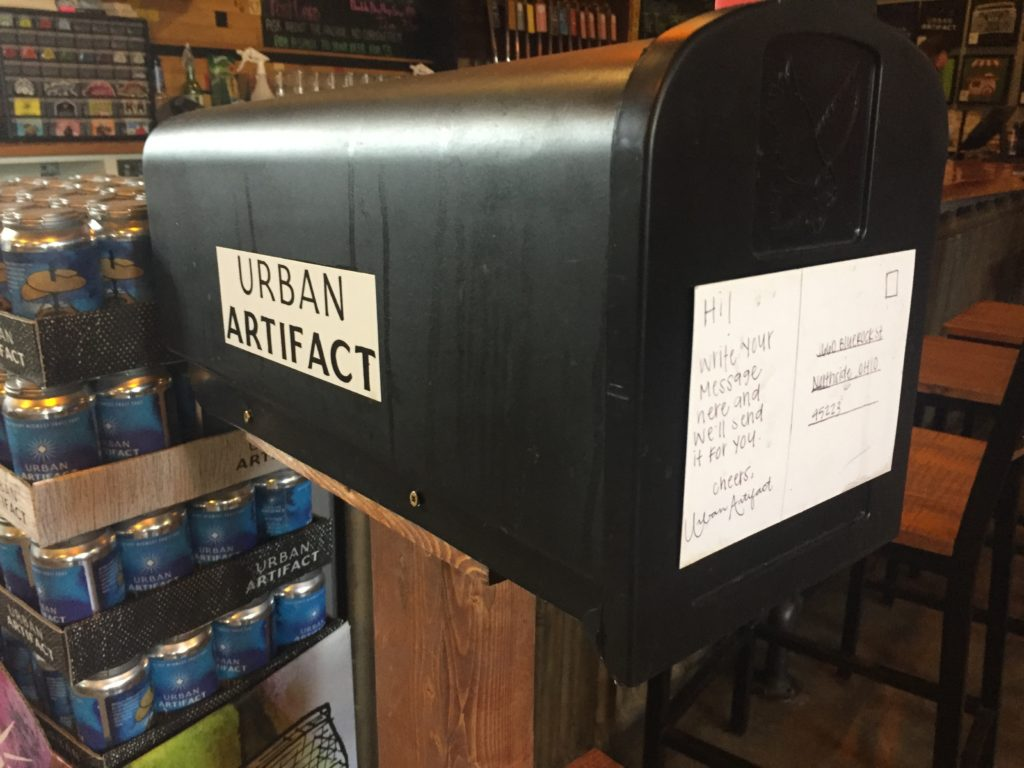 The Urban Artifact comment mailbox