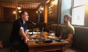 The Distiller host Brandon Dawson with Django Kroner
