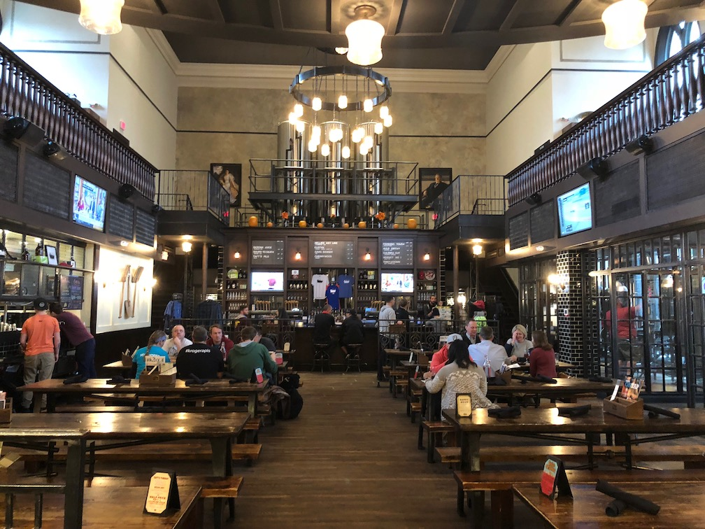 Inside the upstairs space at Taft's Ale House