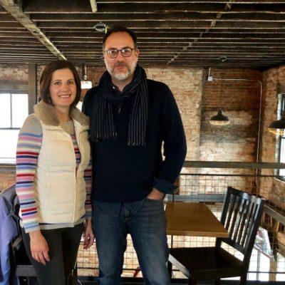The Distiller host Brandon Dawson with Kelly Dolan of Ingage Partners