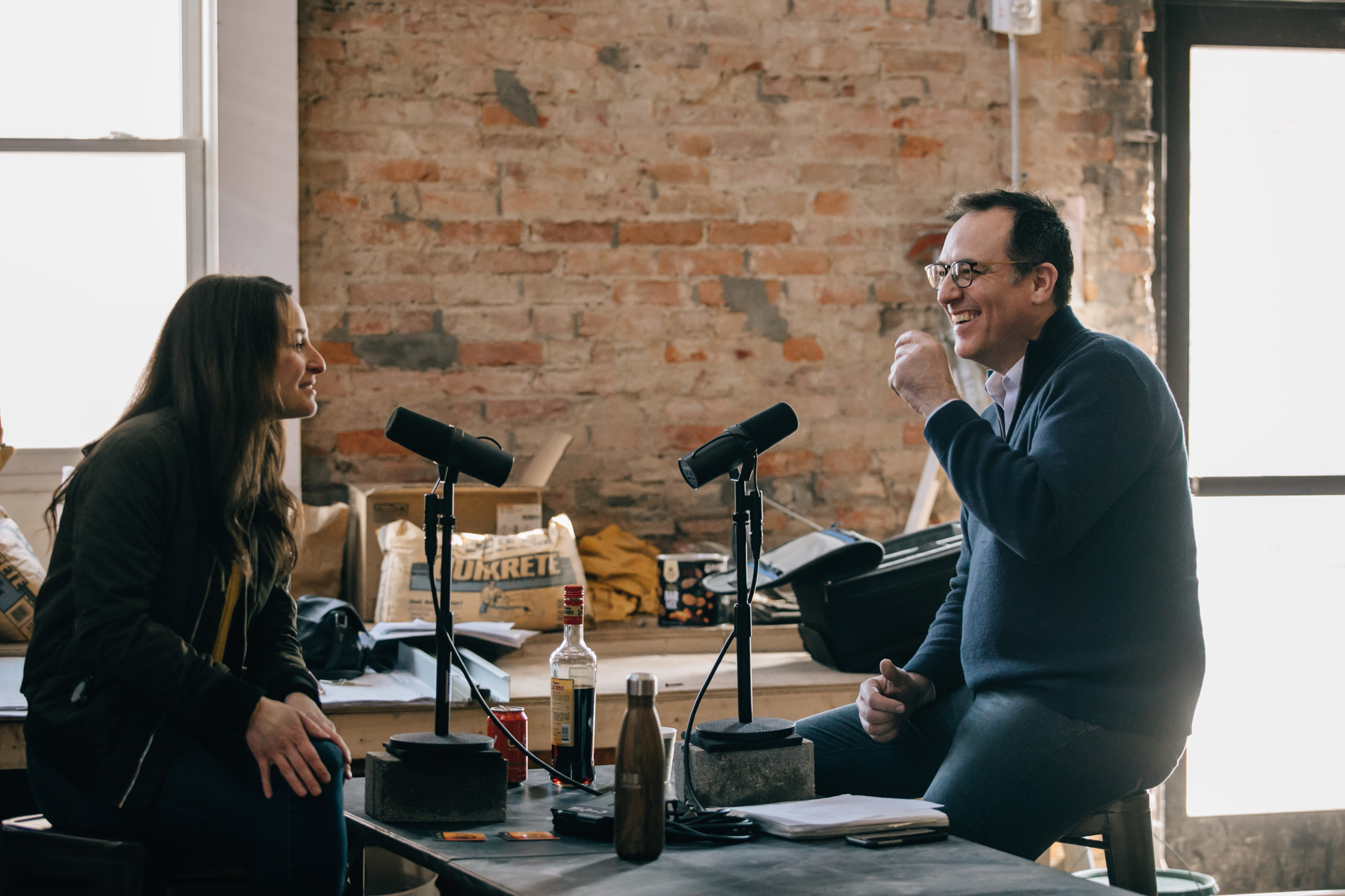 Host Brandon Dawson interviews Julia Petiprin for The Distiller Podcast