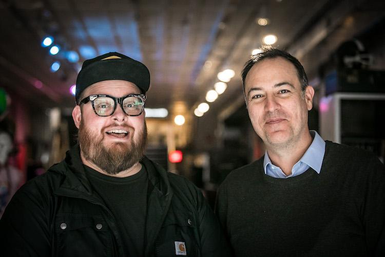 Designer Jason Snell of BLDG and Distiller Podcast host Brandon Dawson