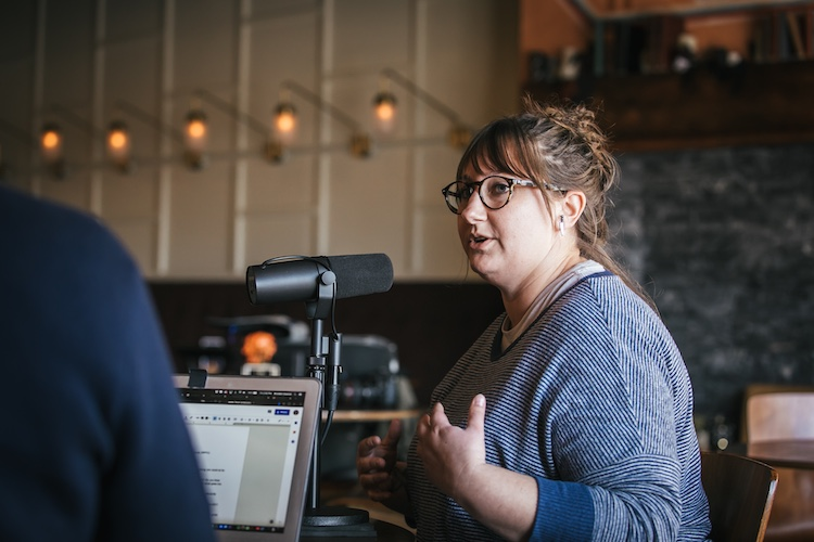 Flavor applications scientist Lew Weeks talks about her work on The Distiller podcast