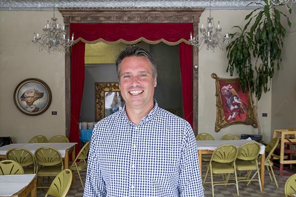 Image of Happen Inc executive director Tommy Rueff